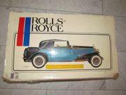 Pocher Model Rolls Royce II