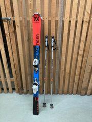 Völkl Jugendski 140cm Skistöcke 110cm