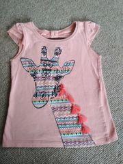 Mädchen T-shirt Gr 92