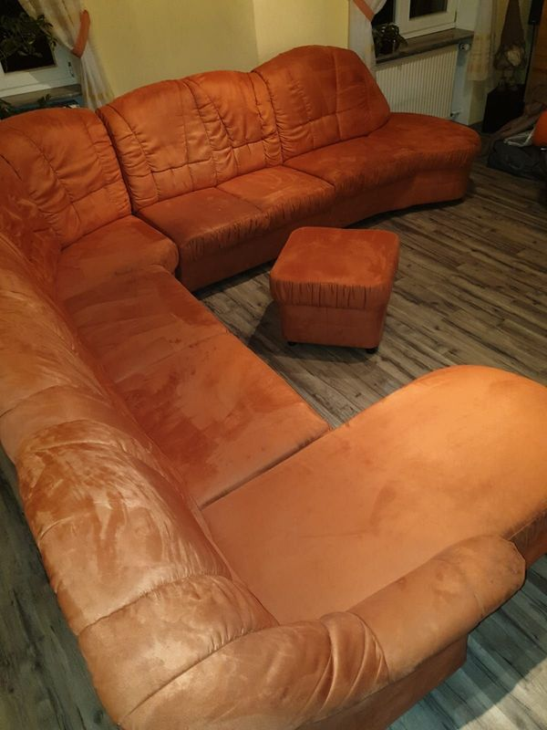 Wohnlandschaft Sofa Polstergarnitur Couch Kostenlos