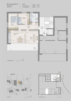 Eigentumswohnungen, 3-Zimmer - 3 Zimmer- Wohnung in Kleinwohnanlage