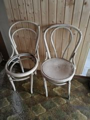 Thonet Stühle rep bedürftig