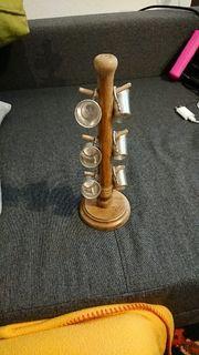 Zinnbecher Schnapsbecher aus Zinn 6x