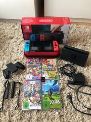 Nintendo Switch 6 Spiele