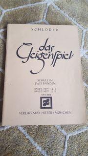 Notenbuch für die Geige
