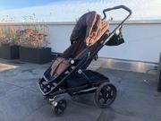 Brio Go Kinderwagen Komplett Set