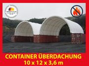 Container Überdachung 6x6 8x6 8x12