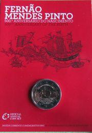 Portugal 2 Euro Gedenkmünze 2011