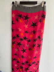 Tuch Schal pink - grau