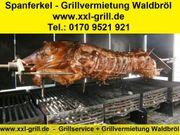 mobiler Grillservice Spanferkel Wildschwein Spießbraten