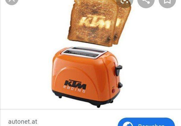 Suche KTM Toaster