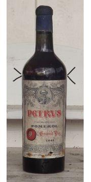 Petrus 1948 Bordeaux Pomerol Rarität