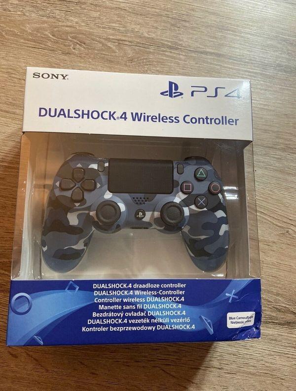 Camouflage Blue Playstation 4 Dualshock