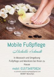 Mobile Fußpflege Moosach und Umgebung