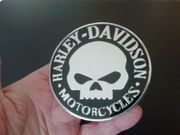 Aufkleber 3D Aluminium Emblem Harley