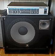 Bassverstärker mit 15 bass box