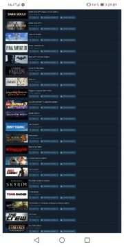 steam account mit 43 spielen