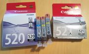 Canon Druckerpatronen 521 520