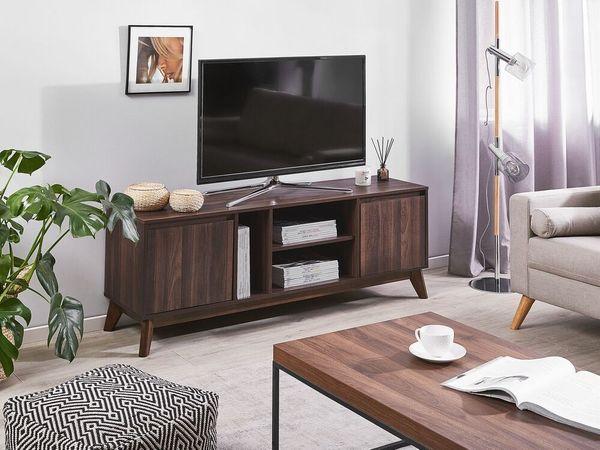 Tv Mobel Dunkler Holzfarbton Oakland Neu Beliani In Wietzendorf Haushaltsauflosungen Kostenlose Kleinanzeigen Bei Quoka De