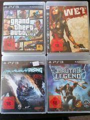 PS3 Spiele GTA5 Wet Brütal