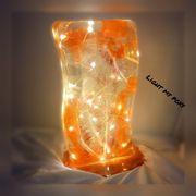 Led Lampe aus Epoxidharz
