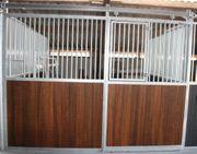 47 Vorderwand Gentleman Schiebetür Pferdeboxen