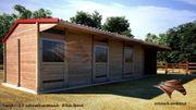 Aussenboxenstall Pferdeställe Außenboxen Weidehütten Pferdeboxen