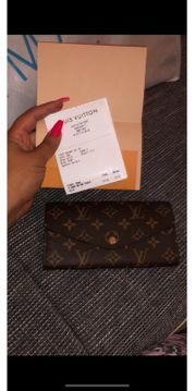 neue Louis Vuitton Geldbörse