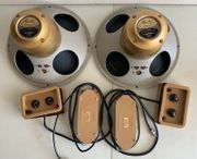Paar Vintage Tannoy Monitor Gold
