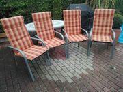 Gartenstühle aus Aluminium