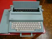 elektr Reise-Schreibmaschine Olivetti praxis