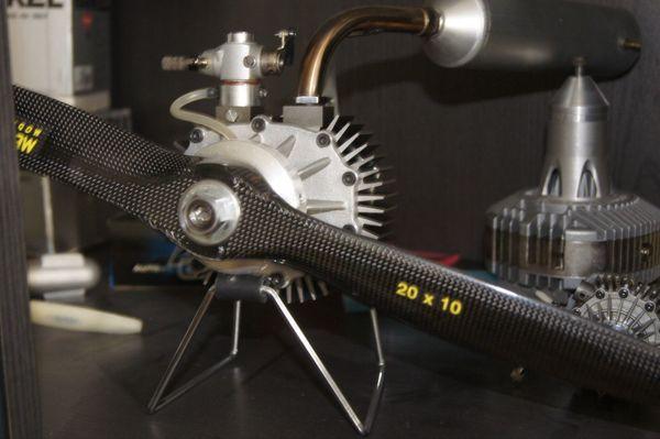 Wankelmotor Wankel Graupner 1880 37ccm