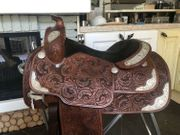 Champion Turf Reining Show Westernsattel
