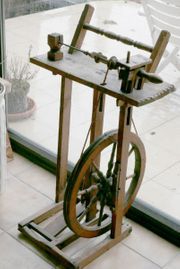 Antikes Spinnrad zu verkaufen