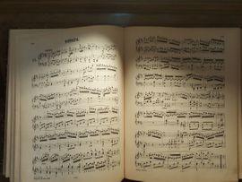 Tasteninstrumente - Antiquarische Partituren für Klavier