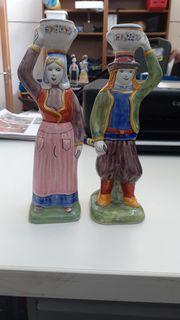 Porzellan - Figuren von Henriot Quimper