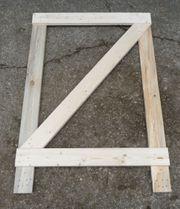 Seitenteil aus Holz für Paletten