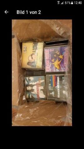 CDs, DVDs, Videos, LPs - CD Sammlung von 219 Stück