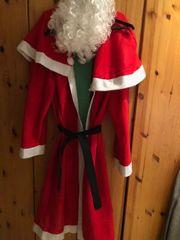 Weihnachtskostüm kpl mit allem Drum