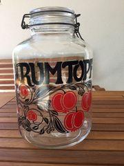 Rumtopf aus Glas