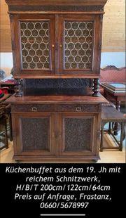 Antike Kredenz Küchenbuffet aus dem
