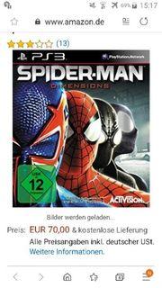 Spiderman Sammlerspiel PS3
