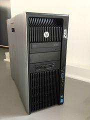HP Workstation Z820 - 2x XEON