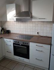 Neuwertige Küche inklusive Elektrogeräte