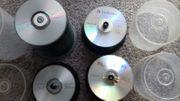 Restbestände an CDs und DVDs