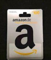 Amazon Gutschein 100EUR