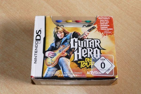 Nintendo DS Spiel Guitar Hero