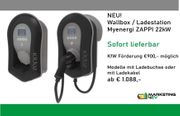 Myenergi ZAPPI 22kW Wallbox Ladestation