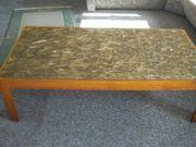 Wohnzimmertsch mit Marmorplatte