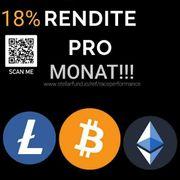 Rendite auf BTC Bitcoin ETH
